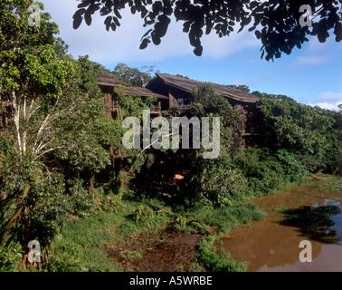 Shimba Hills Lodge, Shimba Hills National Reserve, near Mombasa, Kenya, East Africa - Stock Photo
