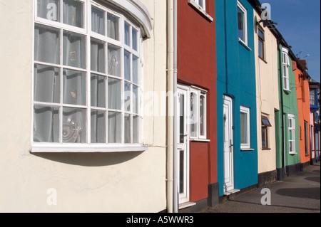 Wellington street scene,Somerset - Stock Photo