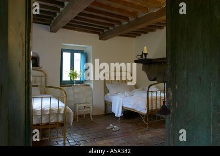 La Colombaia Tuscan Farmhouse Bedroom