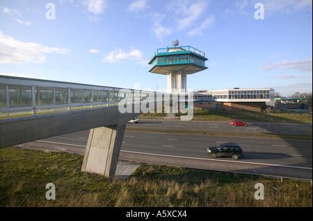 Lancaster,  Forton service station on the M6 motorway, Lancashire, UK - Stock Photo