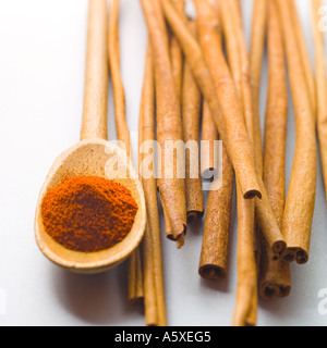 Middle Eastern Spices - Stock Photo