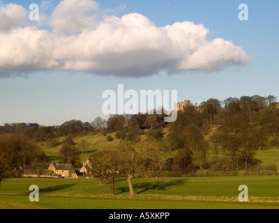 The Parklands of Hardwick Hall in Derbyshire - Stock Photo
