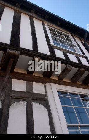 Timbered house Lavenham Suffolk England - Stock Photo