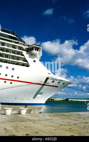 Cruise Ship Carnival Spirit - Stock Photo