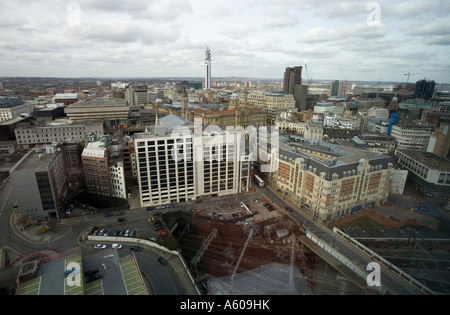 Views of Birmingham City Centre from the new Orion Building West Midlands England UK - Stock Photo