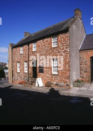 dh Robert Burns museum scotland DUMFRIES GALLOWAY Rabbie Burns house Poets home tourist