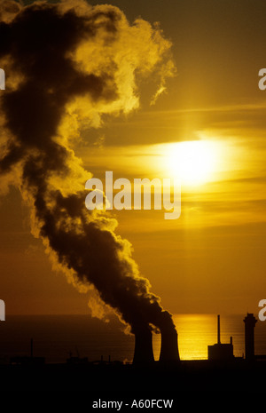 SELLAFIELD NUCLEAR PLANT - Stock Photo