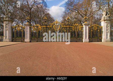 Elaborate Wrought Iron Gates At Entrance To Luxury Home In