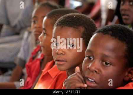 Painet jj1757 namibia child kid bernard nordkamp youth center katatura black township windhoek dating apartheid - Stock Photo