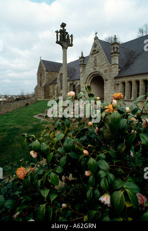 Châteaulin (Finistère), Kapelle Notre-Dame - Stock Photo