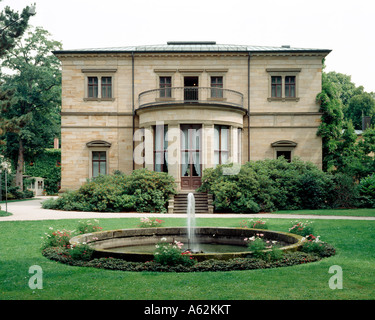 Bayreuth, Haus Wahnfried, - Stock Photo