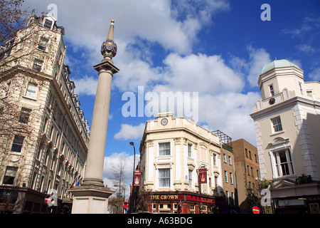 united kingdom central london the crown public house in monmouth street - Stock Photo