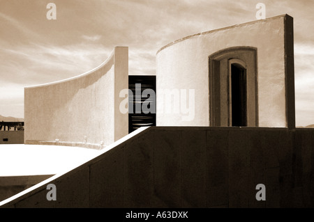 Open air theatre Turgutreis Turkey - Stock Photo