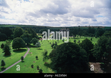 blarney castle and gardens near town of cork county of cork province of munster ireland - Stock Photo