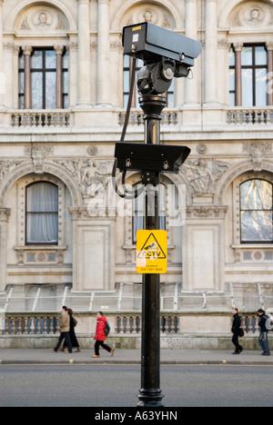 CCTV security cameras London England UK - Stock Photo