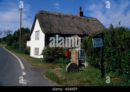 typical bed and breakfast accomodation county of devon england great britain - Stock Photo