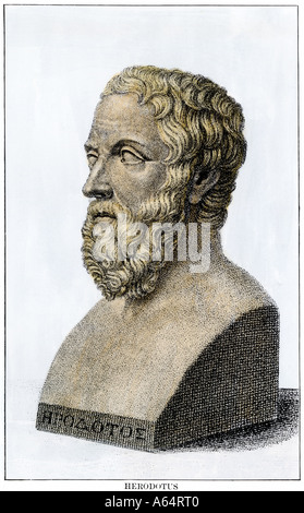 a biography of herodotus the father of history Herodotus of halicarnassus was a greek historian who lived in the 5th century bc in halicarnassus, caria bodrum in modern turkey he is regarded as the father of.