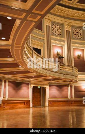 The lavish Auditorium Theatre of the Brisbane City Hall - Stock Photo