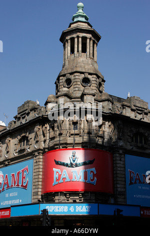 The Fame Musical at the Shaftesbury Theatre in London's West End - Stock Photo