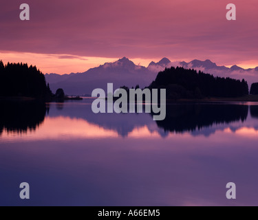 DE - BAVARIA: Lake Forggensee near Füssen - Stock Photo