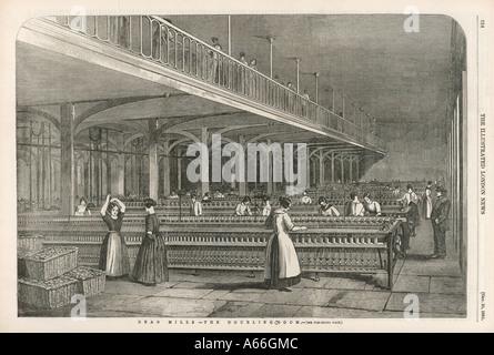 Dean Mills Cotton Mill - Stock Photo