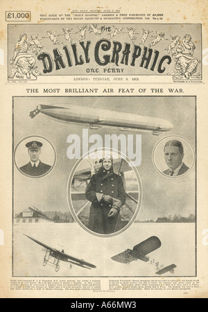 Daily Graphic 1915 - Stock Photo