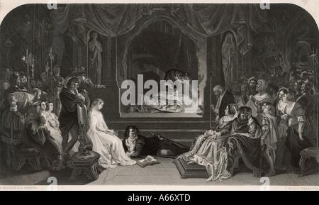 Shakespeare Hamlet - Stock Photo