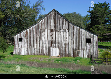 Quot Old Wooden Barn Quot Sonoma County Quot California Stock Photo