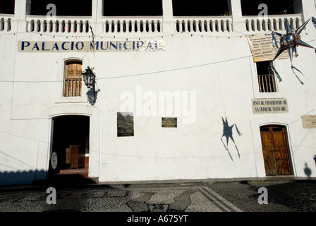 taxco municipal palace - taxco - mexico - Stock Photo