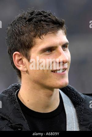 German national team player Mario GOMEZ - Stock Photo