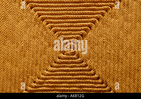 Carpet made of sisal, Museo Nacional de Antropologia, National Museum of Anthropology, Mexico City, Mexico - Stock Photo