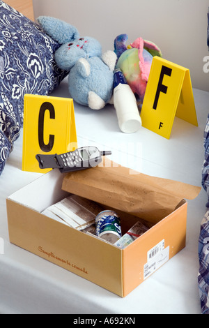 Drug dealers stash in box in bedroom - Stock Photo & Drug dealers stash in box in bedroom Stock Photo Royalty Free ... Aboutintivar.Com