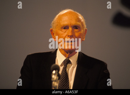 Former UK Prime Minister Sir Alec Douglas Hume - Stock Photo