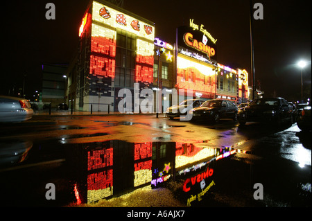 The UK s largest casino at the Starcity entertainment complex in Birmingham - Stock Photo