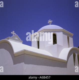 Greek Chapel Dodecanese Island Karpathos Greece - Stock Photo