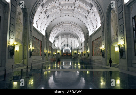 Basilica of El Valle de los Caidos Madrid Spain - Stock Photo