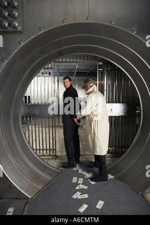 Police Detective Arresting Man - Stock Photo