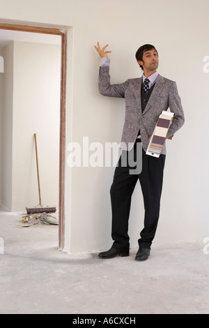 Portrait of Interior Designer in House - Stock Photo