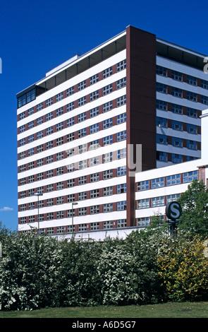 Berlin Friedrichshain Kreuzberg Bundesministerium fuer wirtschaftliche Zusammenarbeit und Entwicklung - Stock Photo
