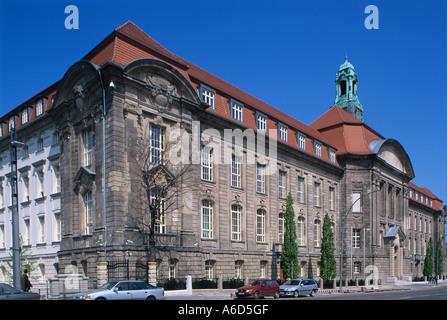 Germany Deutschland Berlin Mitte Bundesministerium fuer Wirtschaft und Technologie Federal Ministry of Economics - Stock Photo