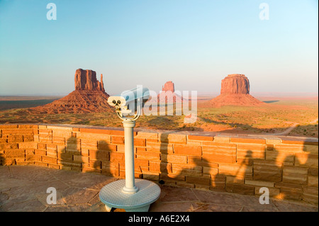 Monument Valley Visitors Center Monument Valley Utah - Stock Photo