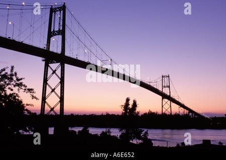 AJ6787, Thousand Islands, Alexandria Bay, New York, NY - Stock Photo