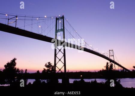 AJ6788, Thousand Islands, NY, Alexandria Bay, New York - Stock Photo