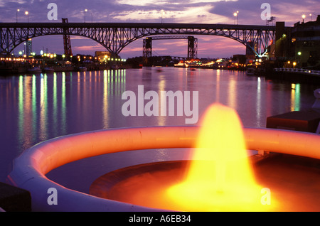 AJ7879, Cleveland, OH, Ohio - Stock Photo