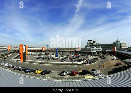 Berlin airport Otto Lilienthal in Tegel, Berlin - Stock Photo