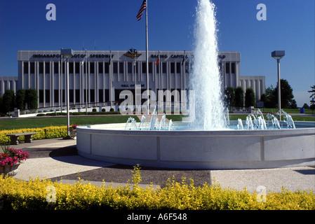 AJ8027, Indianapolis, IN, Indiana - Stock Photo