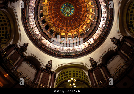 AJ8137, Springfield, IL, Illinois - Stock Photo