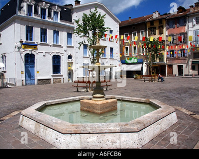 france pyrenees ariege ax les thermes - Stock Photo