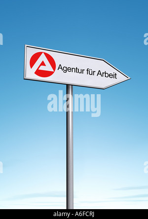 Job center Agentur für Arbeit - Stock Photo