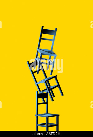 chairs Stuehle - Stock Photo